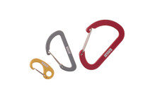Lacd 3er Set Accessory Carabiner Wiregate red/grey/gold